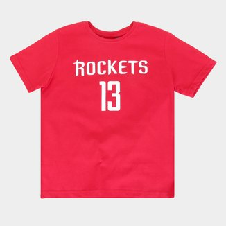 Camiseta Juvenil NBA Estampada Masculina