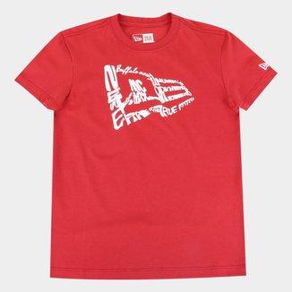 Camiseta Juvenil New Era Flag Masculina