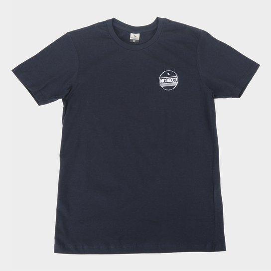 Camiseta Juvenil Nicoboco Oostende Masculina - Marinho