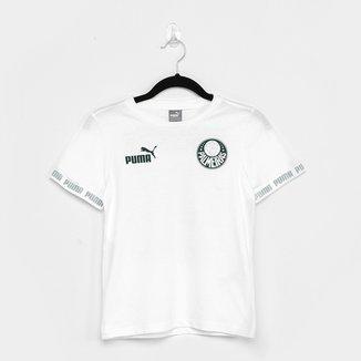 Camiseta Juvenil Palmeiras Culture Puma