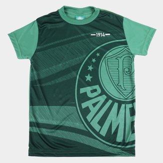Camiseta Juvenil Palmeiras Waves