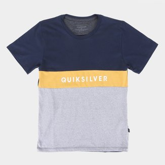 Camiseta Juvenil Quiksilver Tazawa Masculina