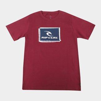 Camiseta Juvenil Rip Curl Icon Trash Tee Masculina