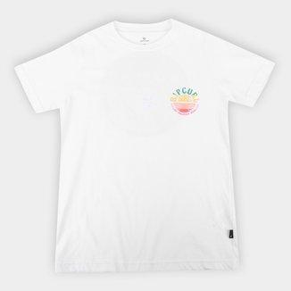Camiseta Juvenil Rip Curl Sport Sunset Tee Masculina