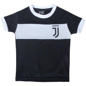 Camiseta Juventus Branca Infantil Clássica s/nº SPR