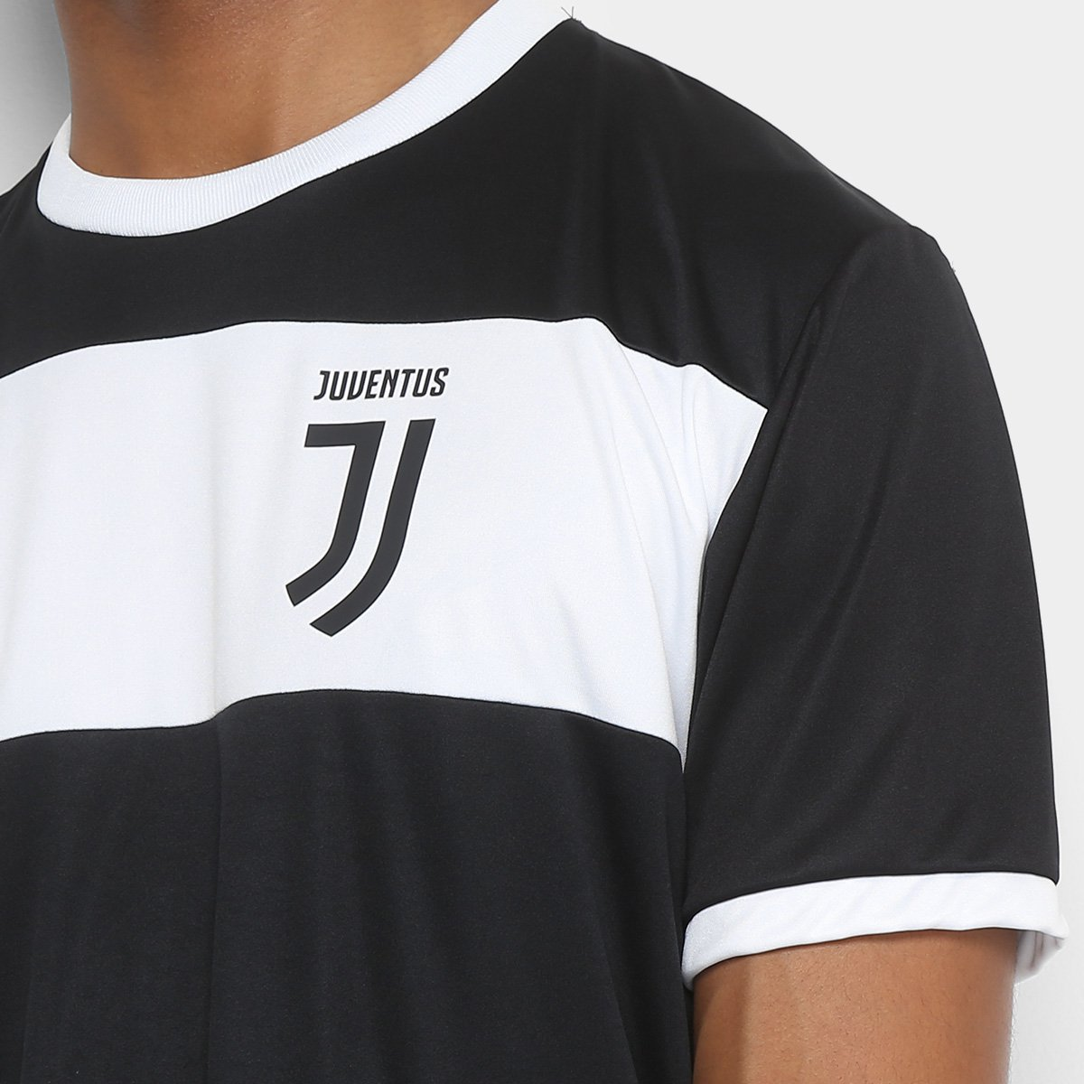 35a9dcdc94 ... Camiseta Juventus Dry Masculina. Camiseta Juventus Dry Masculina - Preto +Branco