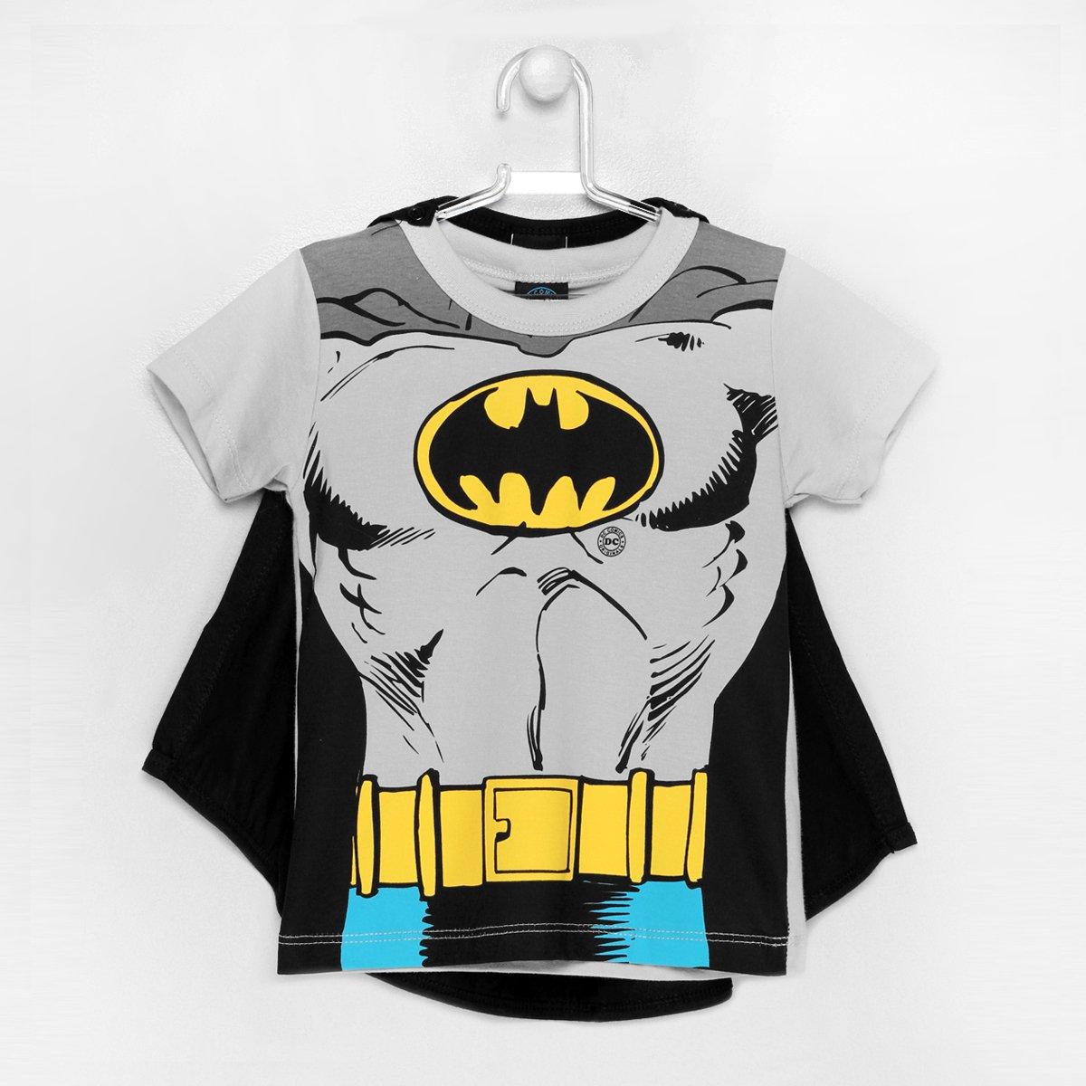 Camiseta Kamylus Batman Capa - Compre Agora  02ce5d1ee11
