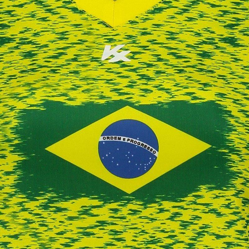 Amarelo Feminina Brasil Camiseta Feminina Amarelo Kanxa Brasil Kanxa Kanxa Camiseta Camiseta Brasil Feminina wxW7Zgq