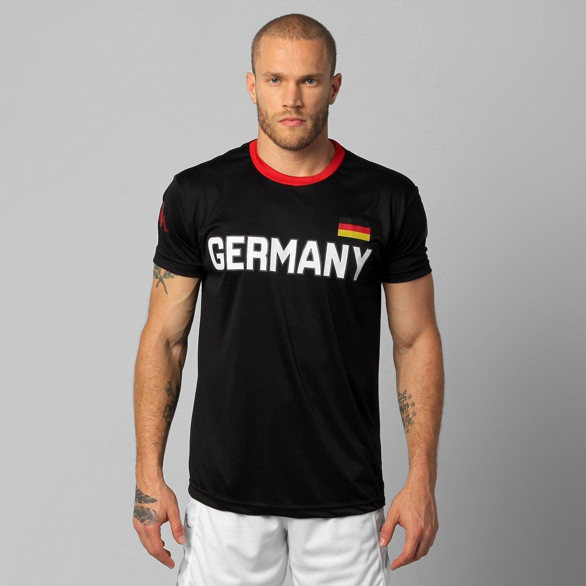 Camiseta Kappa Alemanha País - Compre Agora  51be891e7bb82