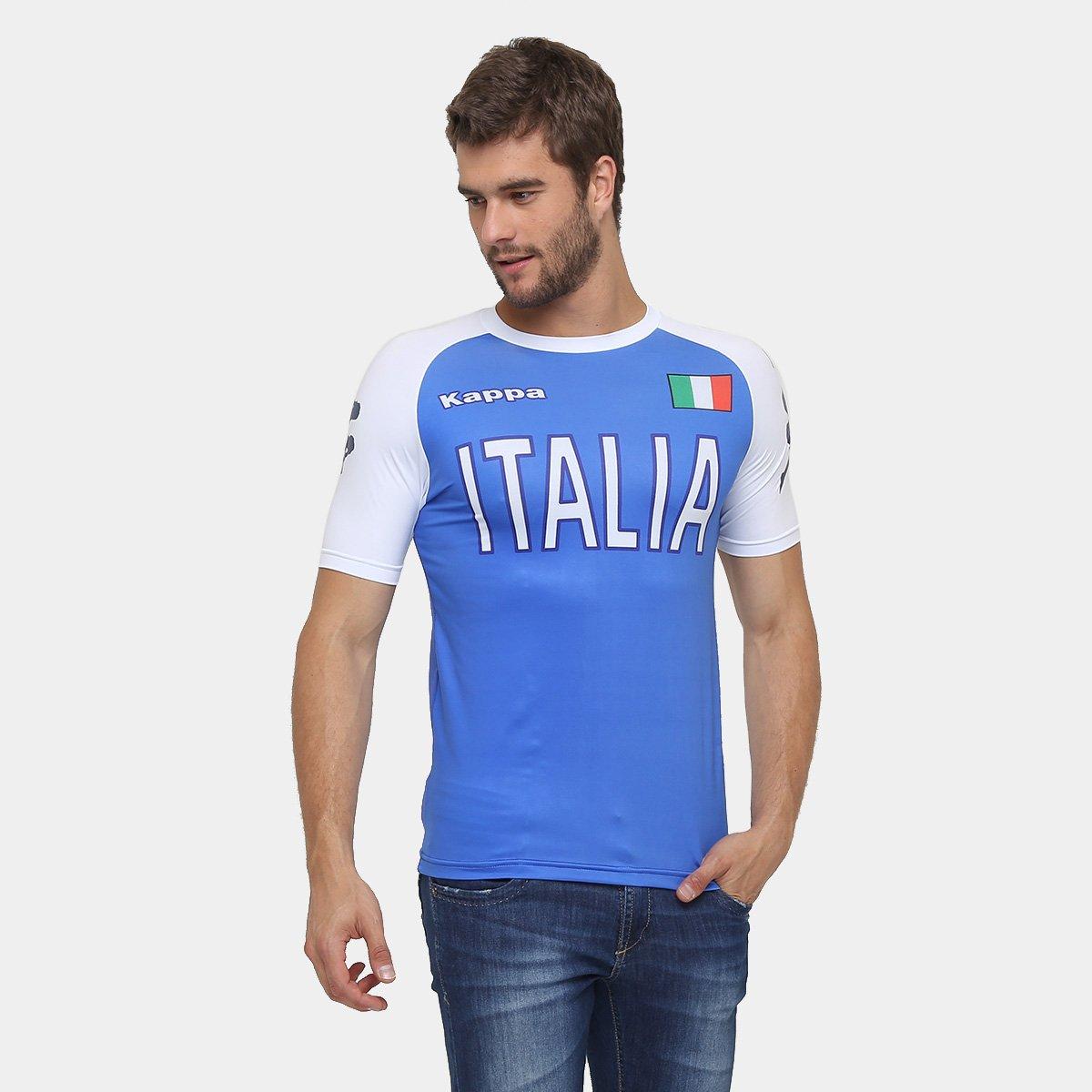 d23c1cab7f5fe Camiseta Kappa Itália Kombat - Compre Agora