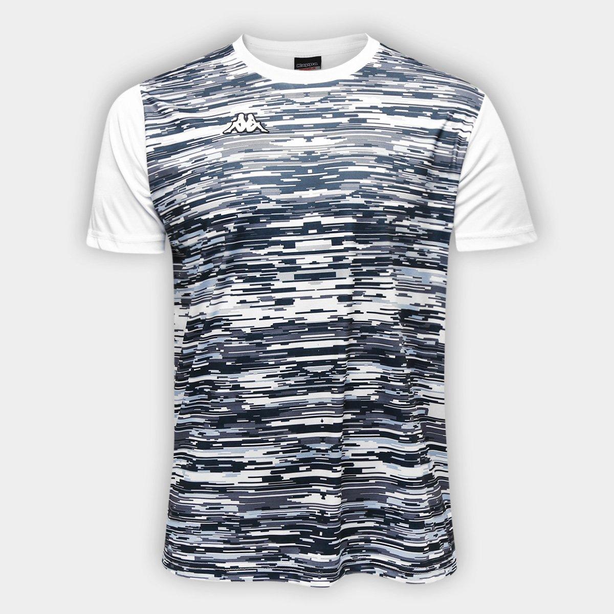8757f30a56 Camiseta Kappa Jenner Masculina - Branco - Compre Agora