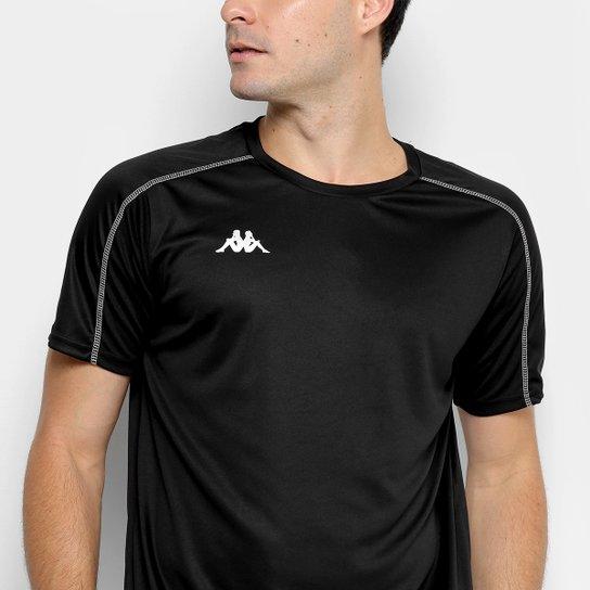 Camiseta Kappa Memphis Masculina - Preto