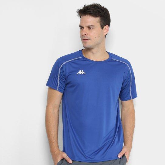 Camiseta Kappa Memphis Masculina - Azul Royal