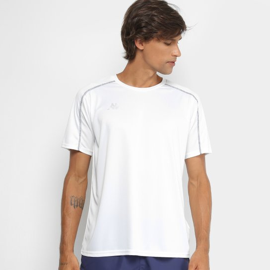 Camiseta Kappa Memphis Masculina - Branco