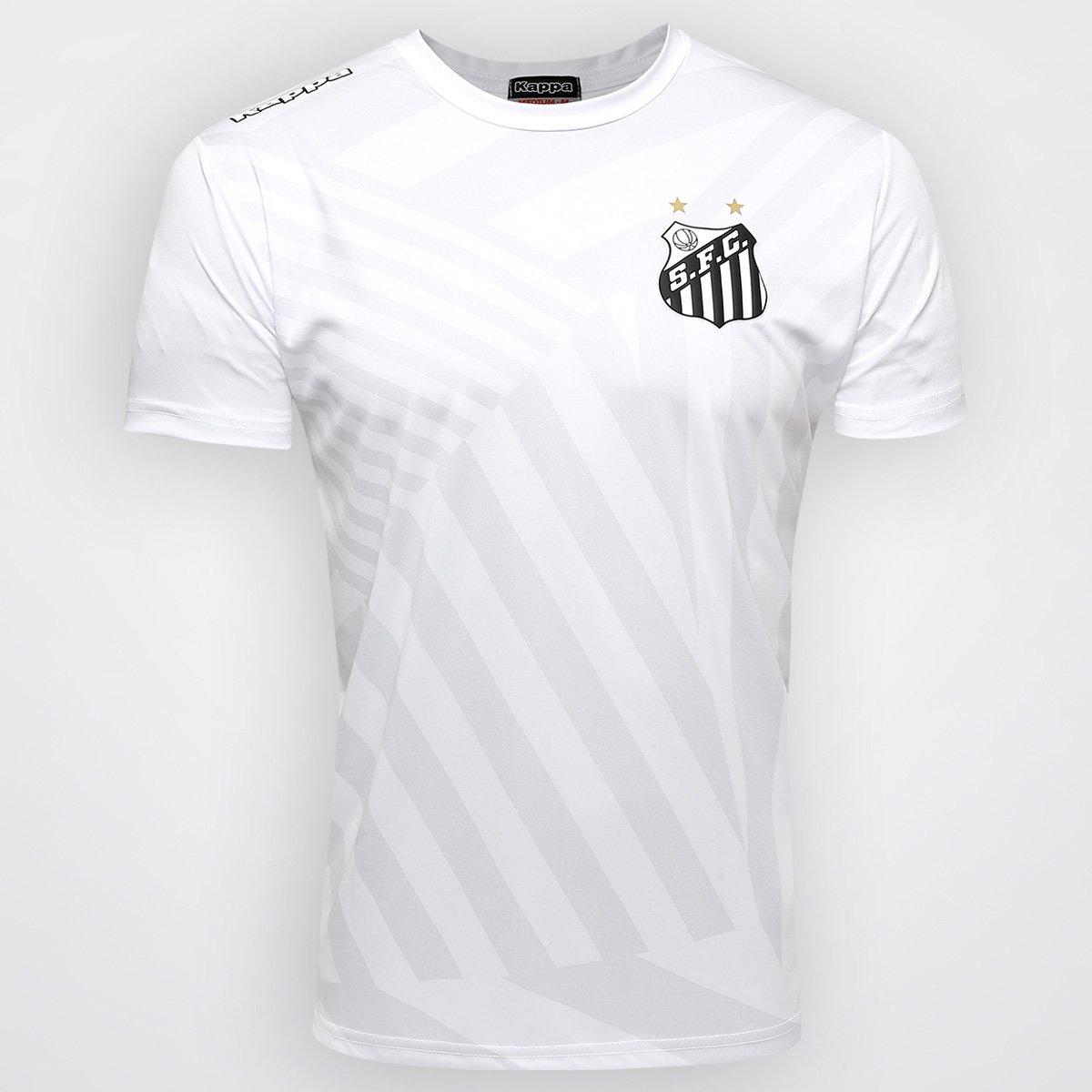 Camiseta Kappa Santos Force 2016 - Compre Agora  131bf080de220