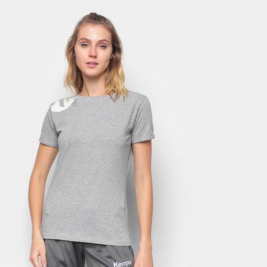 Camiseta Kempa Core 2.0 Feminina - Cinza