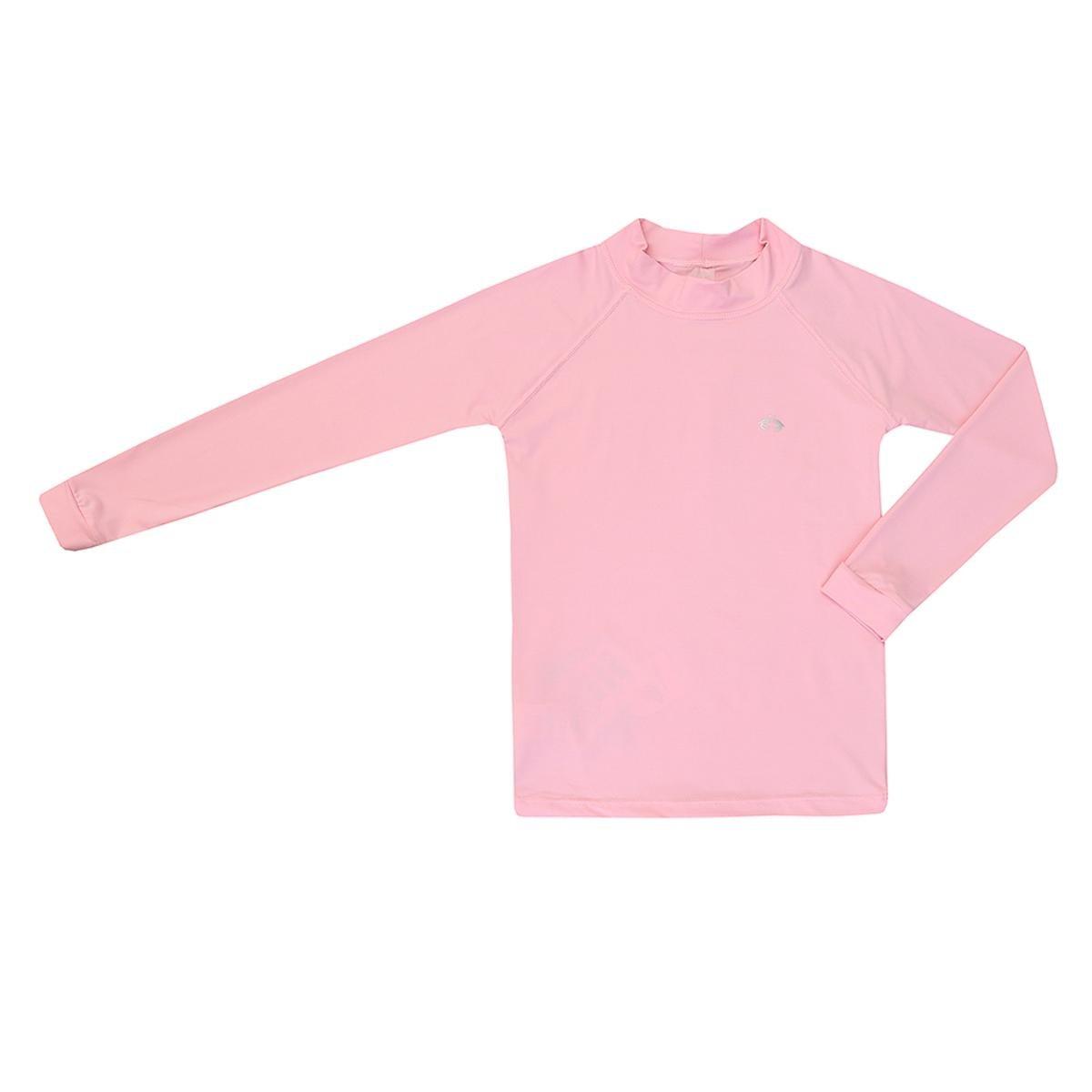 Camiseta Kids Proteção UV 50+ Siri Feminina - Rosa - Compre Agora ... 712ecbef272