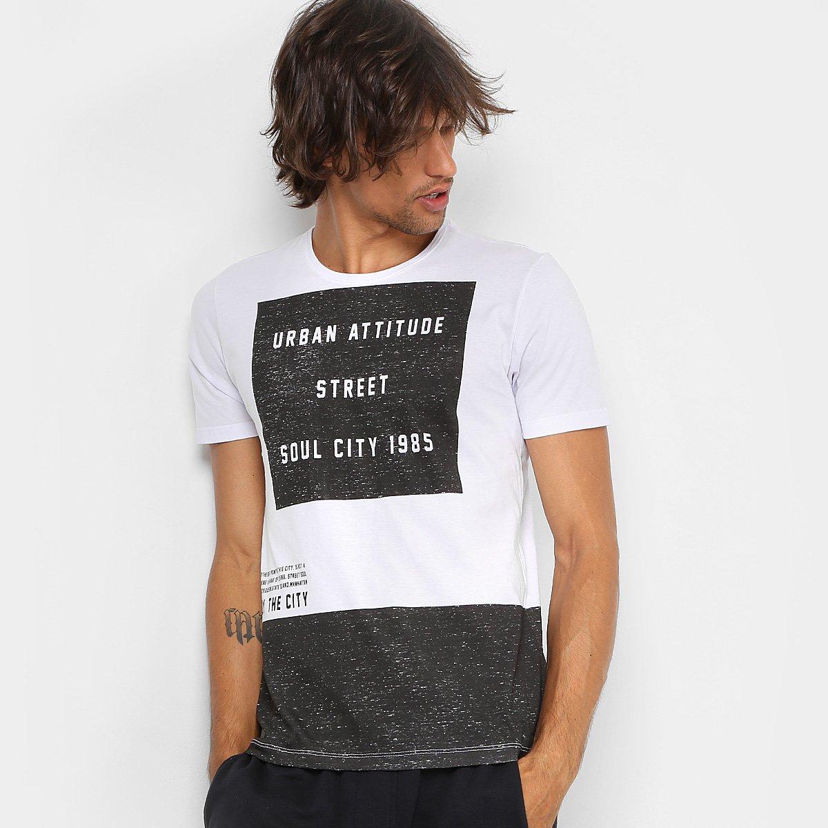 9dead090d8f38 Camiseta Kohmar Urban Attitude Masculina - Compre Agora