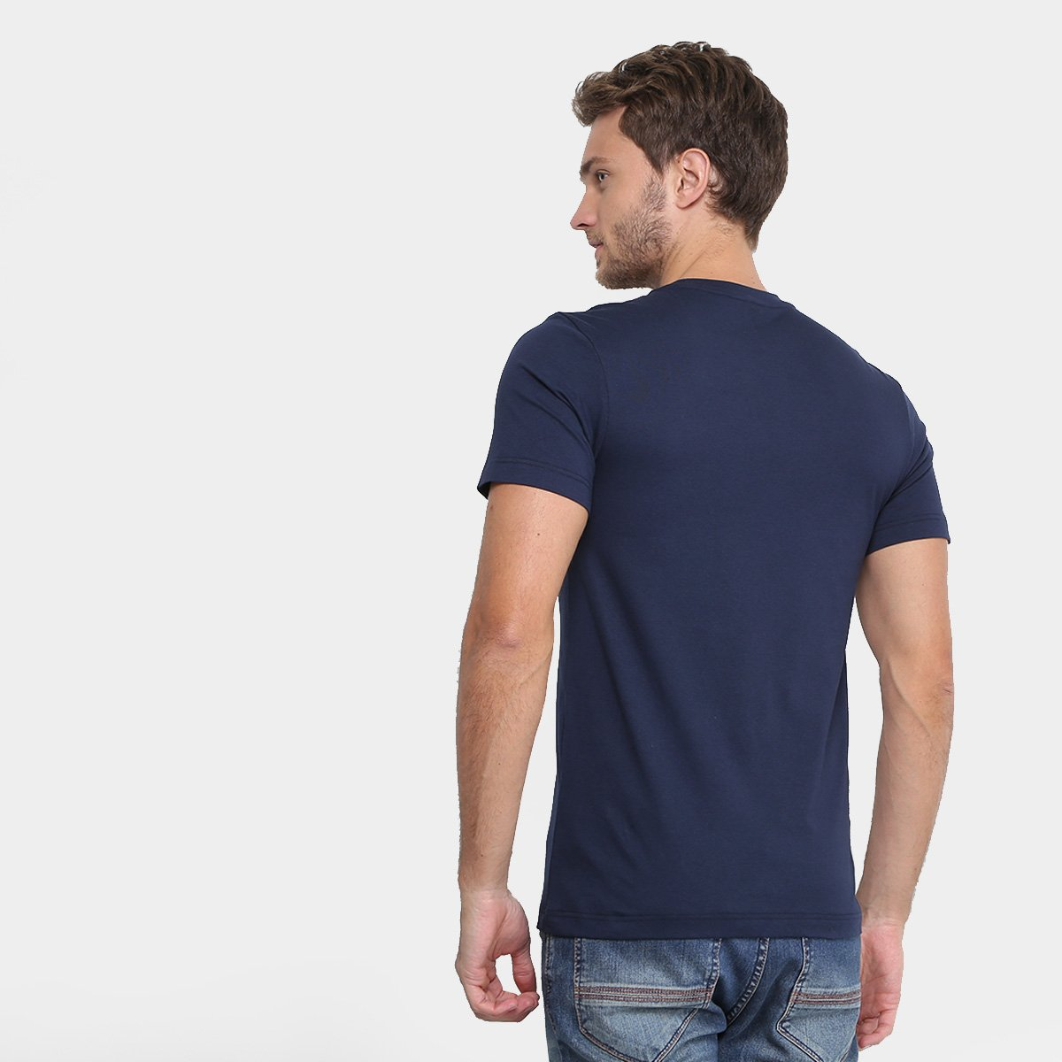 Camiseta Lacoste Astronauta Masculina  Camiseta Lacoste Astronauta  Masculina ... a14a996a8b