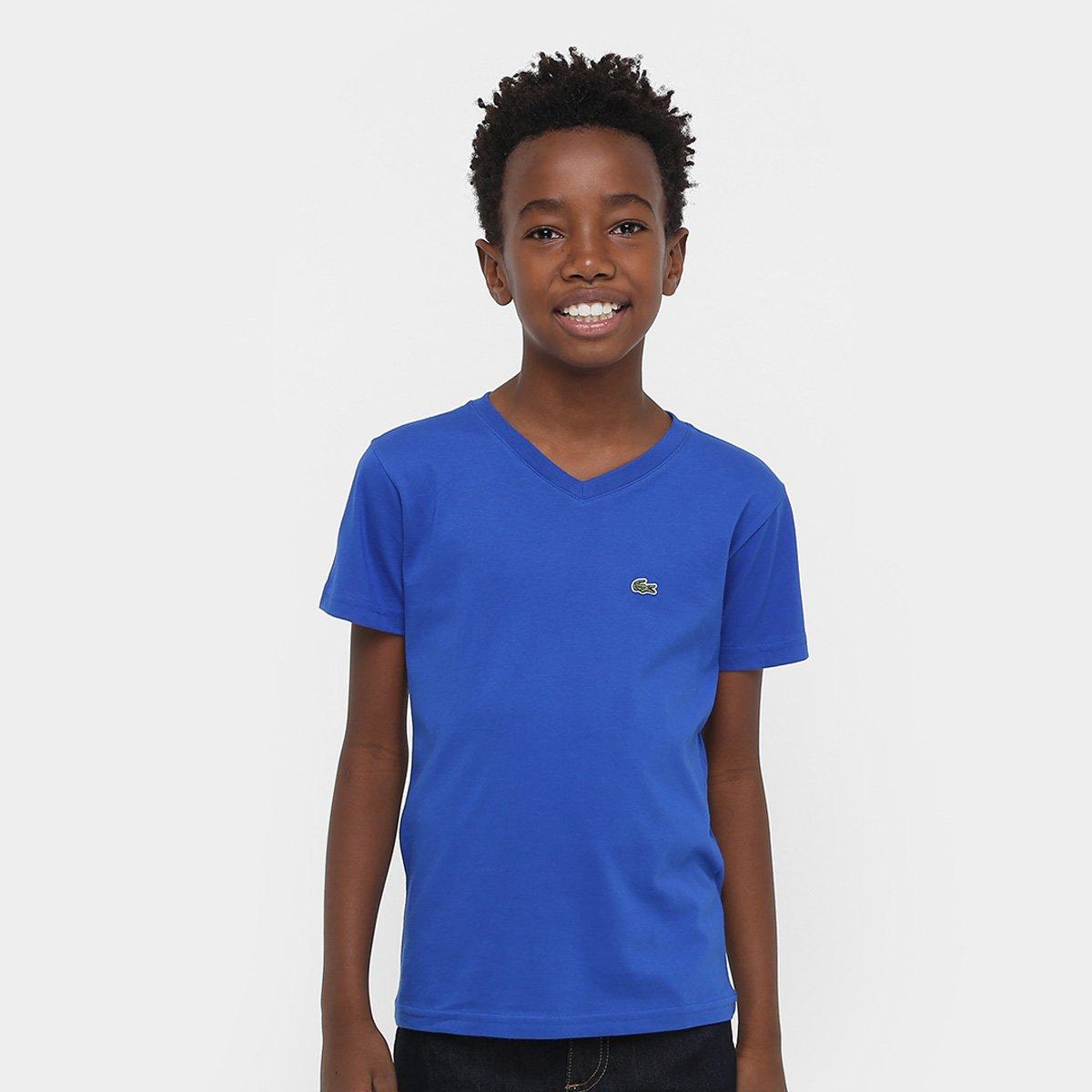 5e68c55caba94 Camiseta Lacoste Básica Infantil - Compre Agora