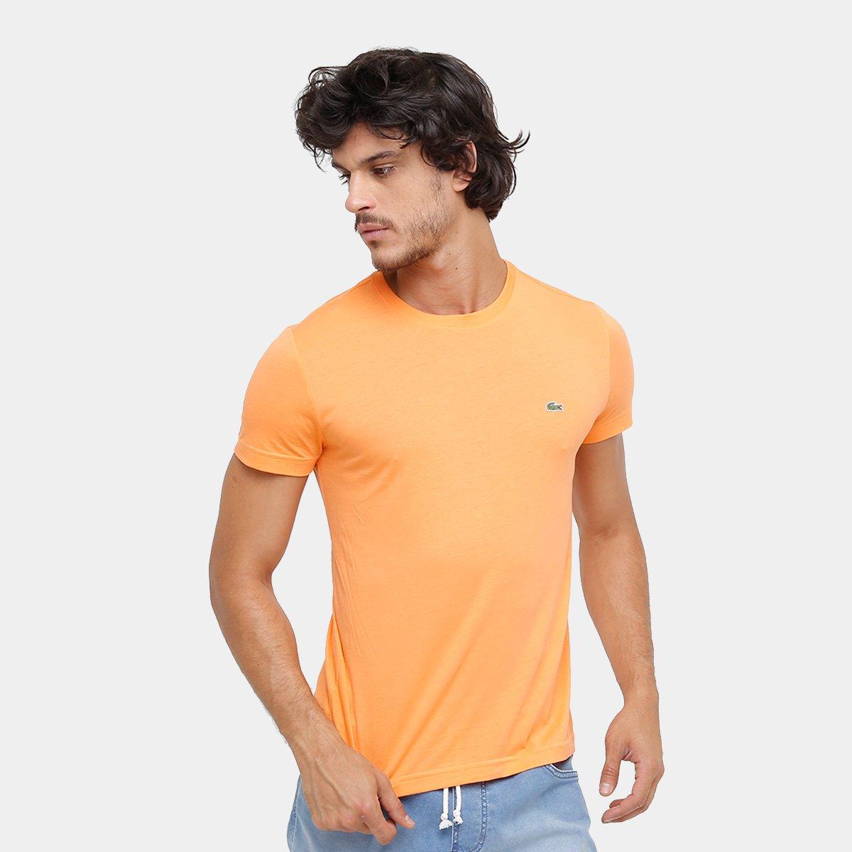 4cd3ee1a65c Camiseta Lacoste Básica Masculina - Compre Agora