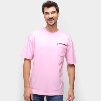 Camiseta Lacoste Bolso Masculina