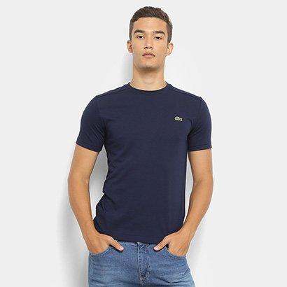 Camiseta Lacoste Gola Careca Masculina