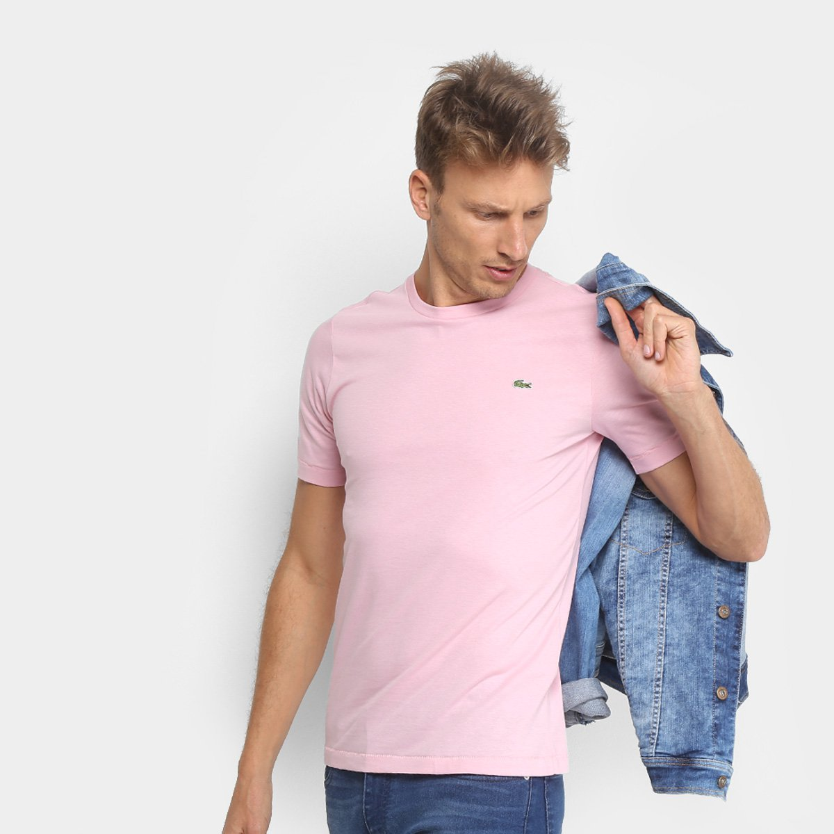 2568f245cc88e Camiseta Lacoste Live Masculina - Compre Agora