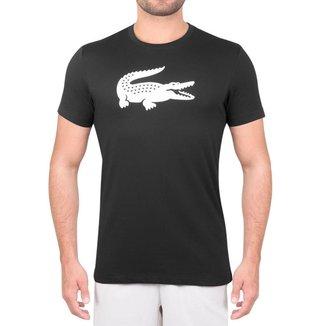 Camiseta Lacoste Tennis Training 1 TH3377 Preta