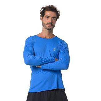 Camiseta Larulp Galt Long - Azul Royale