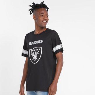 Camiseta Las Vegas Raiders New Era Jersey Urban Tech Logo Masculina