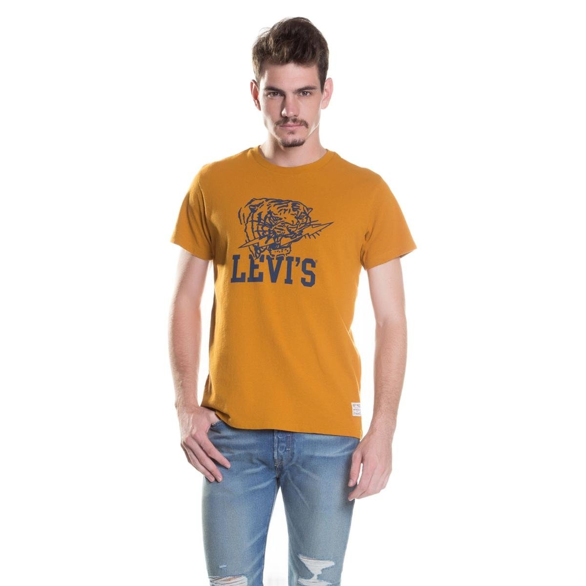 Camiseta Levis Sunset Mighty Graphic - Compre Agora  852812080a9