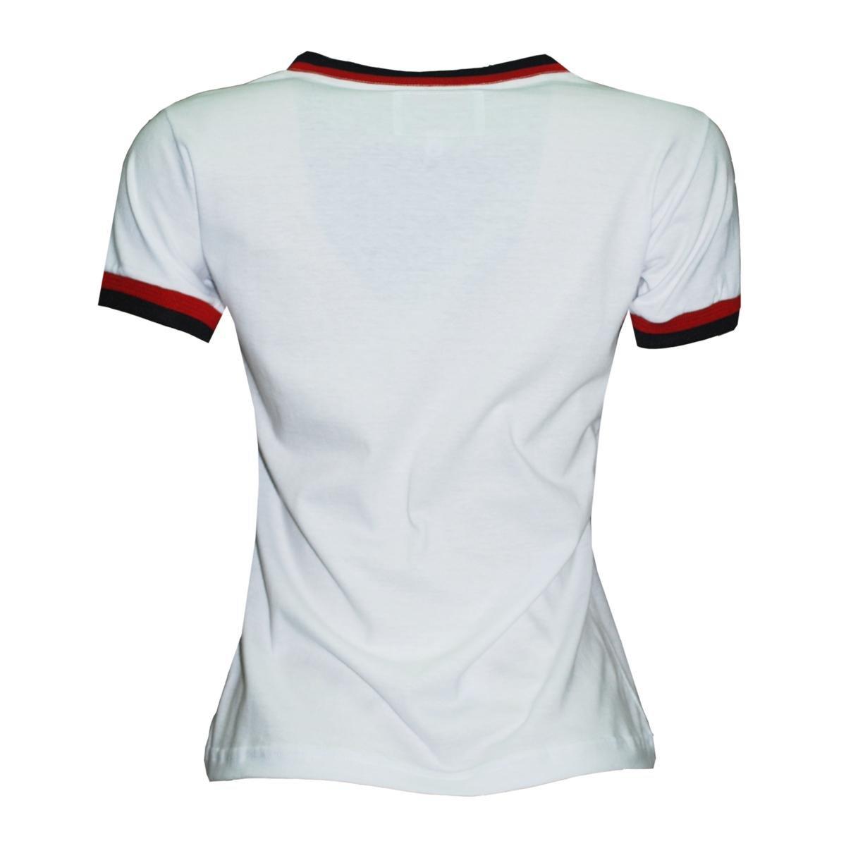 Atlético Camiseta 1983 PR Camiseta Liga Branco Retrô Liga Retrô Feminino wqxOpfPXE