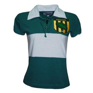 Camiseta Liga Retrô Brasil Rugby Feminina