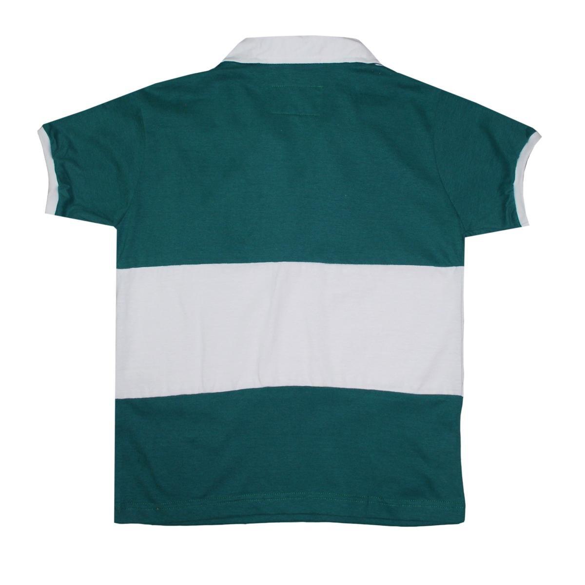 Rugby Brasil Retrô Camiseta Camiseta Infantil Liga Verde Liga 8SIXnq