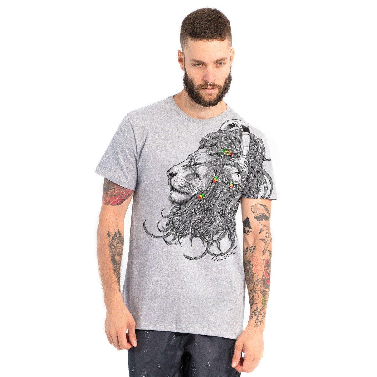 99917a8e4b Camiseta Lion Dreadlocks Maresia - Compre Agora