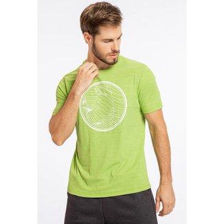 Camiseta Live!   Optical Circle  Masculina