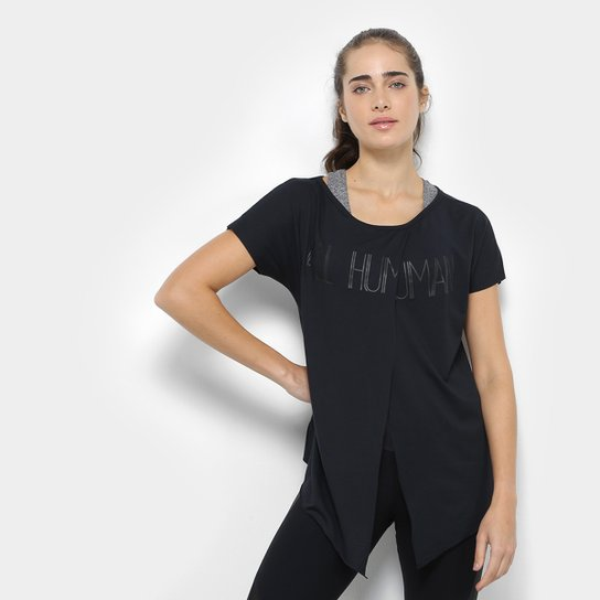 Camiseta Live Brezee Energy Feminina - Preto