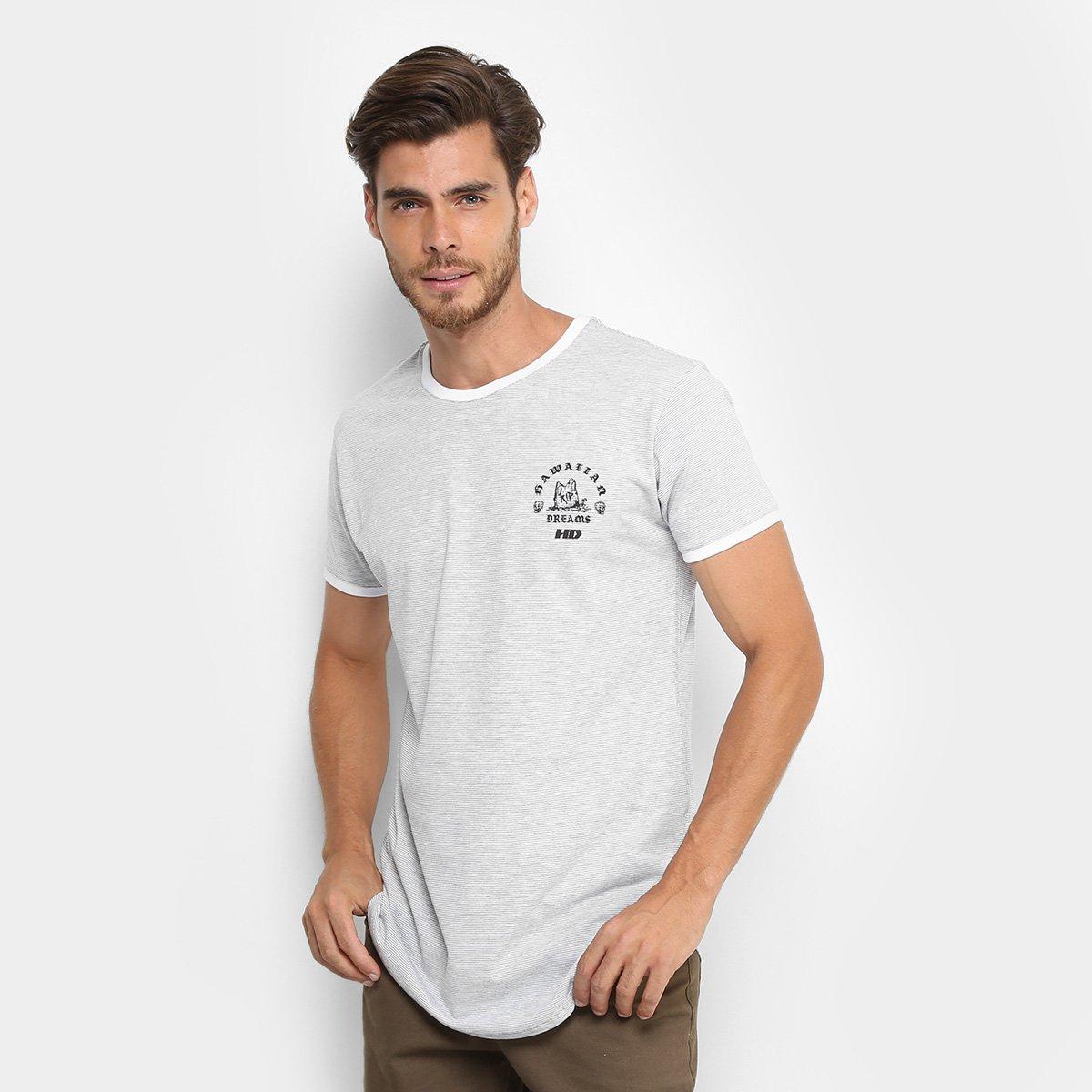 c4d7c266488d7 Camiseta Longline HD Especial Masculina - Branco - Compre Agora ...