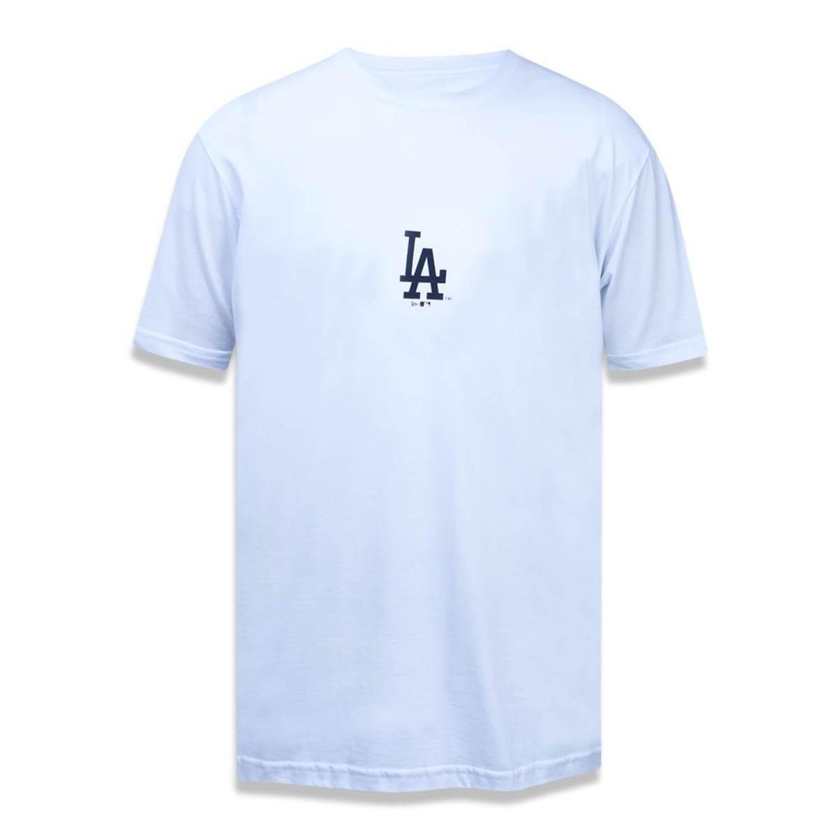 f71a83b2f8971 Camiseta Los Angeles Dodgers MLB New Era Masculina - Branco - Compre Agora
