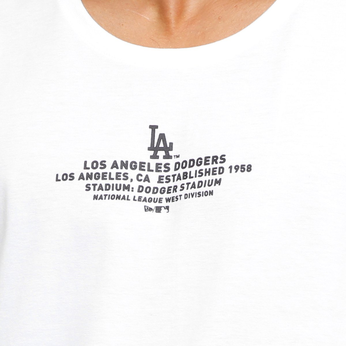 Camiseta Lic 2023 Era New Los Masculina Angeles Branco Dodgers HqwnOagH