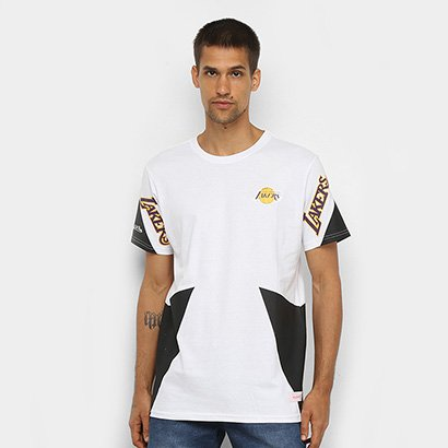 Camiseta Los Angeles Lakers Mitchell & Ness Sport Masculina - Masculino