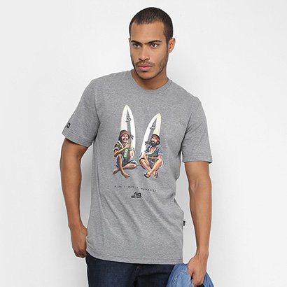 Camiseta Lost Double Troule In Paradise Masculina - Masculino