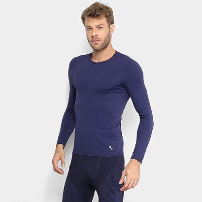 Camiseta Lupo Sport Com Proteção UV Manga Longa Masculina - Masculino