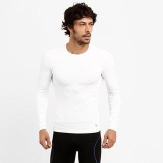 Camiseta Lupo Sport Com Proteção UV Manga Longa Masculina
