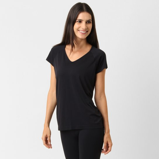 Camiseta Lupo Sport Comfortable Feminina - Preto