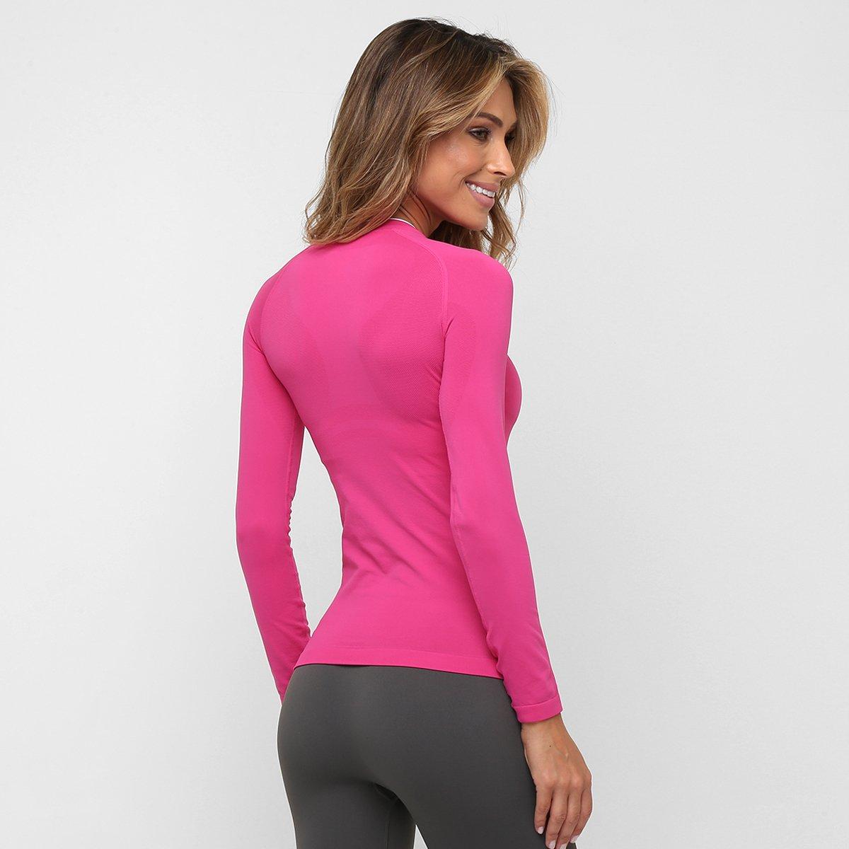 Camiseta Lupo Sport Térmica I-Core Manga Longa Feminina - Pink ... d9fb89d0f71e2