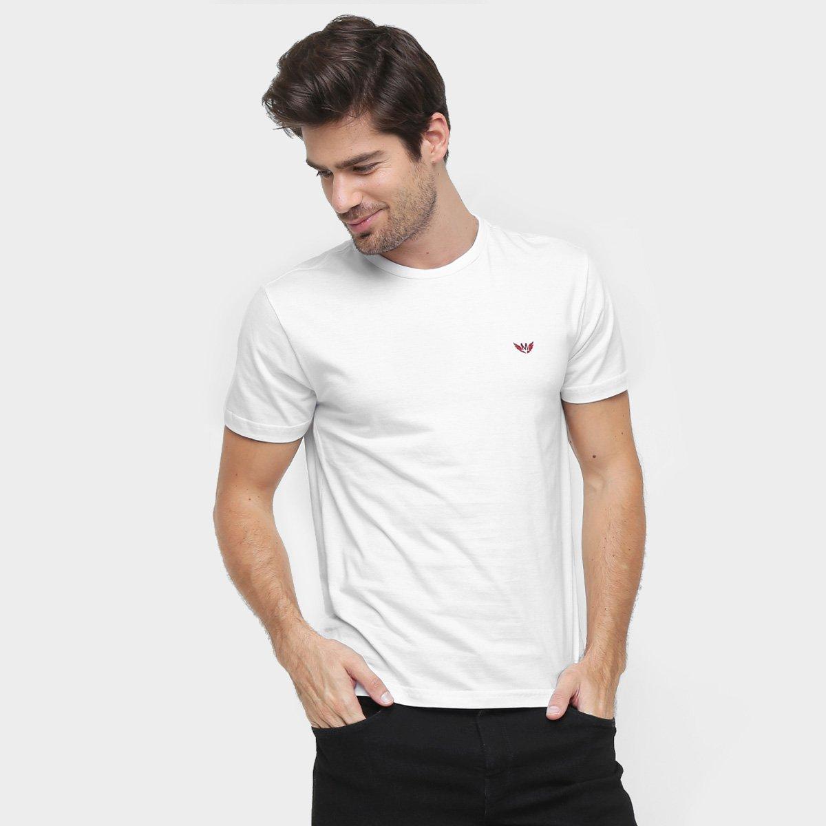 Camiseta M. Officer Básica - Compre Agora   Netshoes ff4c2bd9d9