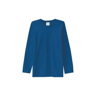 Camiseta Malha UV Infantil Malwee Kids Azul Claro - 16 Malwee Kids