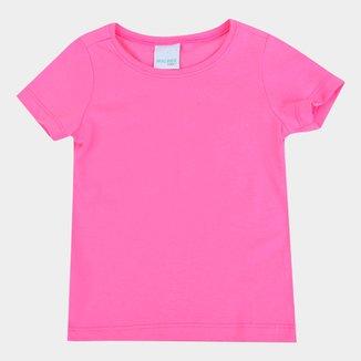 Camiseta Malwee Baby Look Básica Feminina
